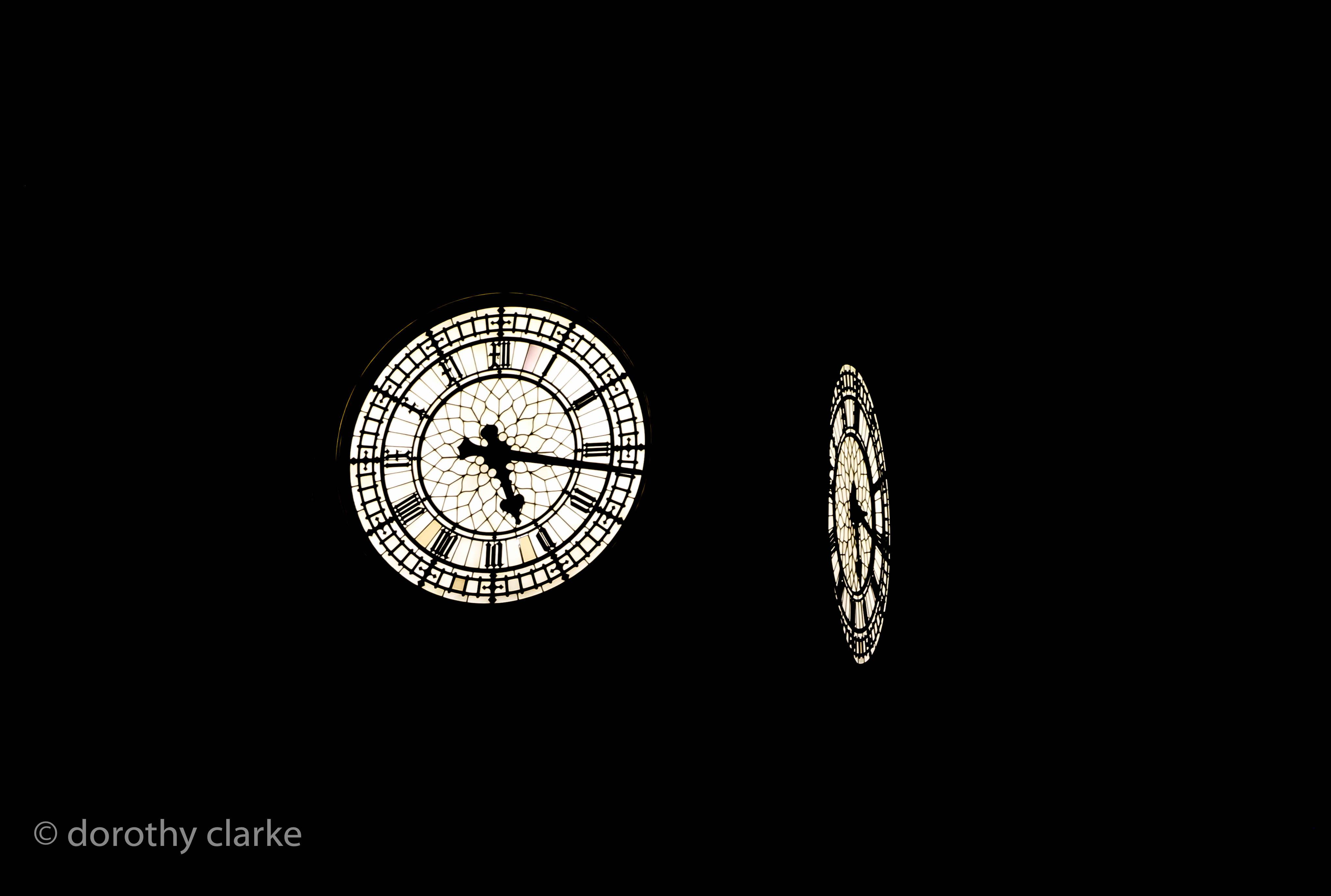 Big Ben in the dark