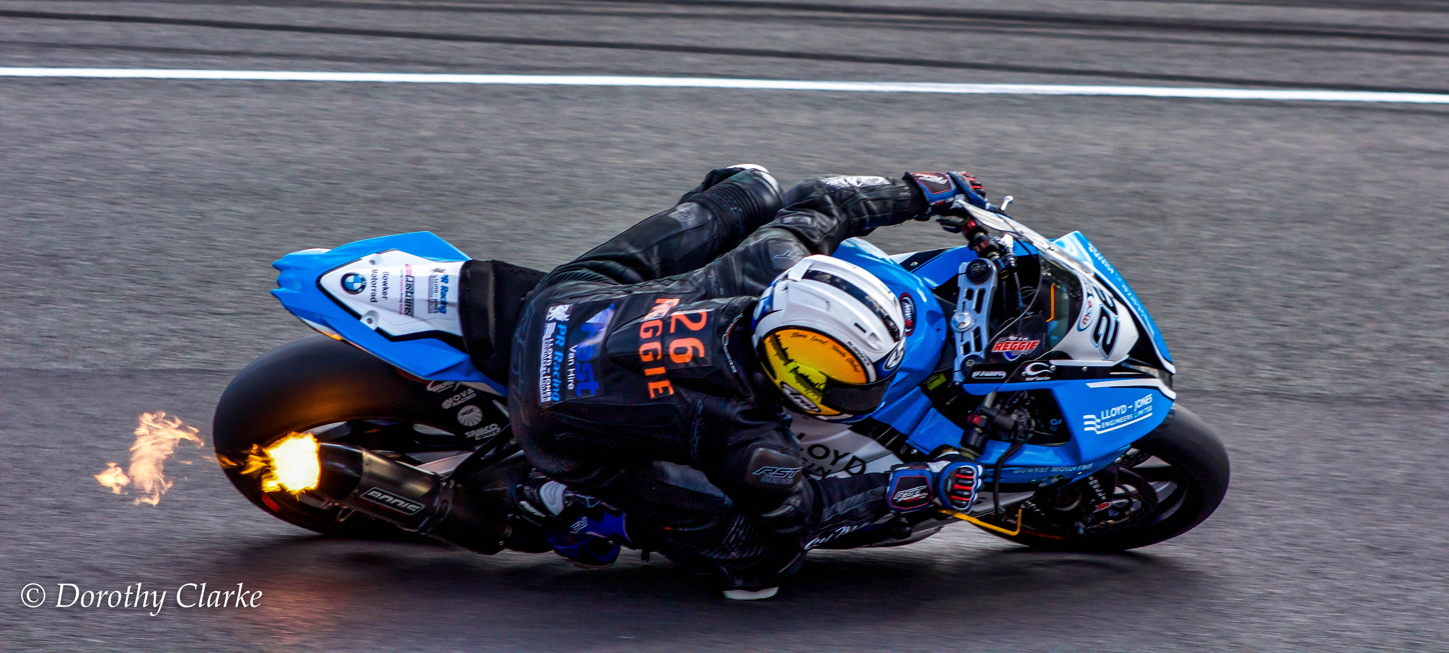 Sam Coventry at The Superbikes