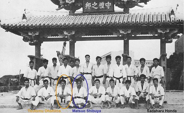 Okinawa Masters visit Shibuya Ohshima Ho