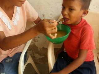 Let's help the hungry children of Carora, Venezuela