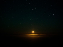 1. Moonset with clouds_90x120