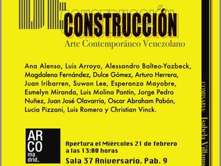 Deconstrucción: Arte contemporáneo venezolano en ARCO Madrid