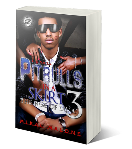 Pitbulls In A Skirt 3 by Mikal Malone