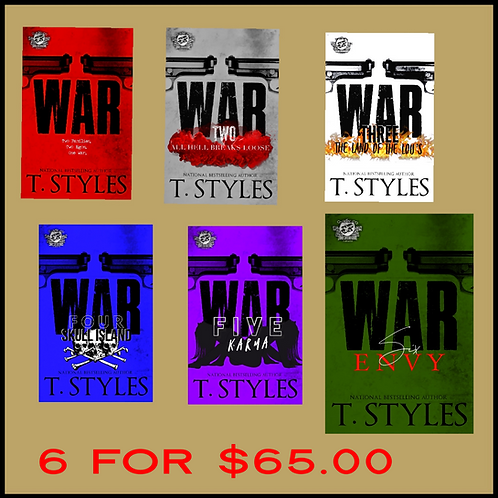 WAR SERIES (BOOKS 1-6)  SPECIAL