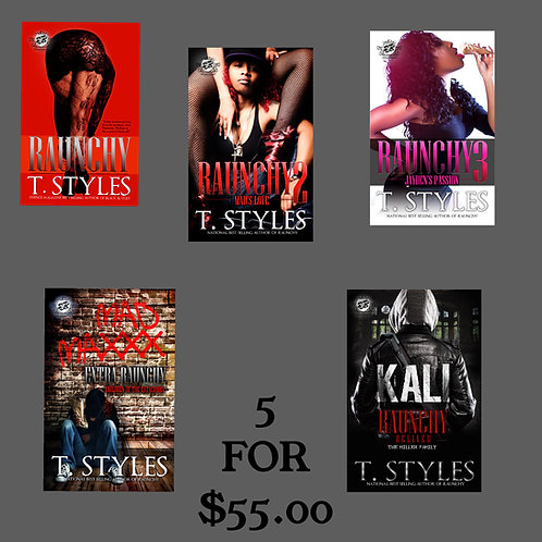 RAUNCHY SERIES (1-5) SPECIAL