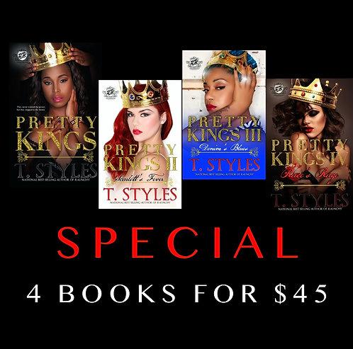 PRETTY KINGS SERIES (BOOKS 1-4) SPECIAL