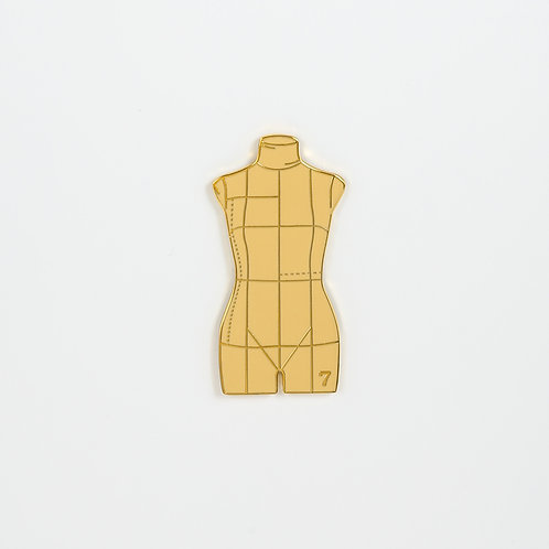 The Bust Form Pin
