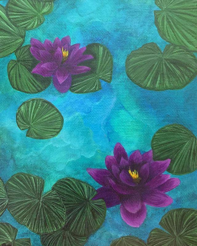 _Lotus_  6x8 oil  #oilpainting #oilpainter #painting #pastelcolors #artistsofinstagram #artistsonins