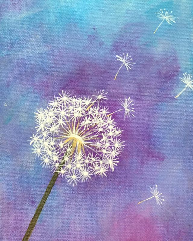 _Wish__6x8 oil  #wish #makeawish #dandilion #oilpainting #oilpainter #painting #pastelcolors #artist