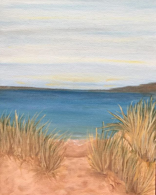 _Seashore 1_  6x8 oil  #oilpainting #oilpainter #painting #justbeachy #beach #beachhousedecor #beach