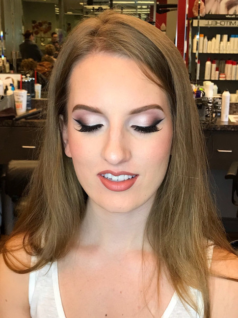 Bridal makeup for Michelle