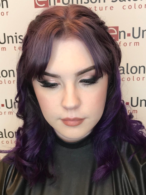 Prom Makeup for Kaelie
