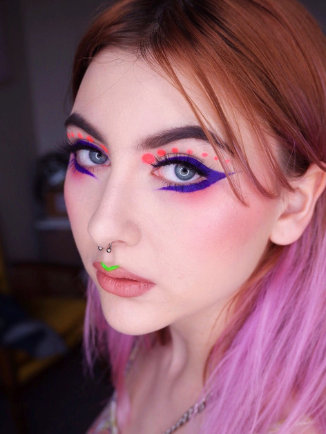 Shot by me, makeup on Sicily @technicolorgirl