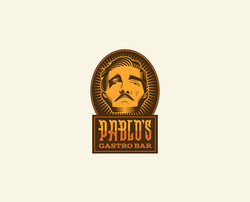 Pablo's Gastrobar Logo Design