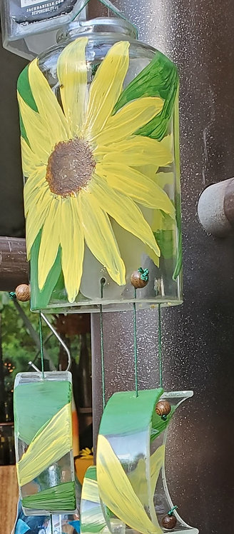 Yellow Flower wind chime