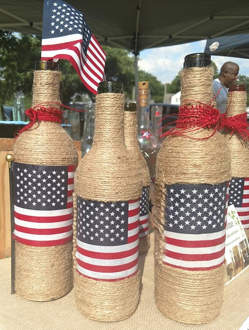 Twine and Flag bottles