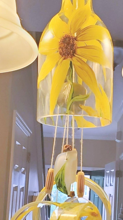 Yellow wind chime