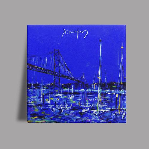 A ponte Azulejo