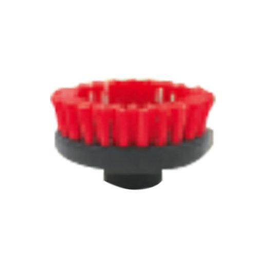 Escova plástica 60 mm preto / vermelho