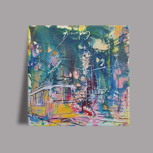 Explosão de Cores Lisboa II  Azulejo