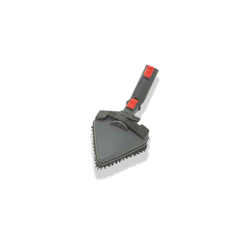 Controle deslizante triangular pincel vermelho