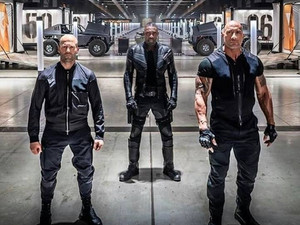 New Set Photo From FAST & FURIOUS Spinoff, HOBBS & SHAW, Reveals Hobb's Bros