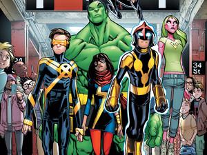 Change the World. Meet Marvel's CHAMPIONS!