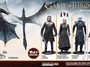 McFarlane Toys' Launches Highly Anticipated HBO's GAME OF THRONES Figures