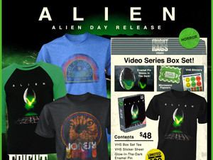 ALIEN DAY Collection Launches at Fright-Rags, Plus PET SEMATARY Merch