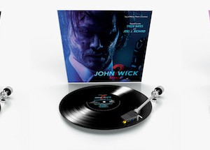 JOHN WICK 1-3 Soundtracks On Vinyl From Varese Sarabande Records And Music.Film Recordings - Origina