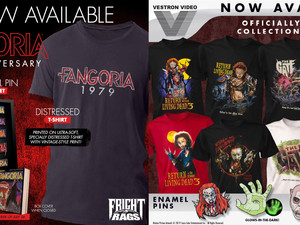 RETURN OF THE LIVING DEAD 3 Apparel, THE GATE Apparel, & FANGORIA 40th Anniversary Merch from Fr