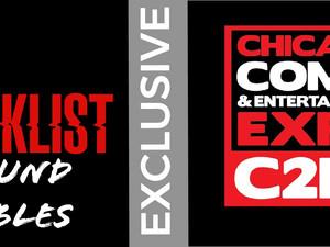 2019 C2E2 EXCLUSIVE: Press Tables w/ The Cast & Showrunner of NBC's THE BLACKLIST