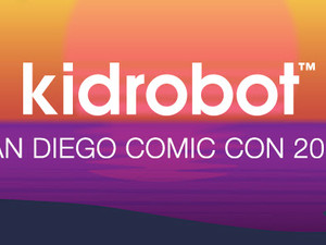 KIDROBOT San Diego Comic Con Exclusives and Pre-sale Announcement