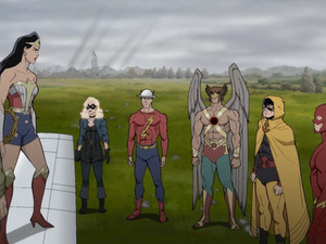 """New JUSTICE SOCIETY: WORLD WAR II Clip: """"Marching Orders"""" Debuts"""