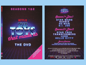 THE TOYS THAT MADE US THE DVD: SEASON 1 & 2 | Available May 7, 2019 on DVD