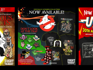 Who Ya Gonna Call? GHOSTBUSTERS, THE DEVIL'S REJECTS, UHF Apparel from Fright-Rags