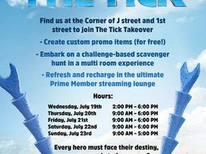2017 San Diego Comic Con EXCLUSIVE: THE TICK Takeover