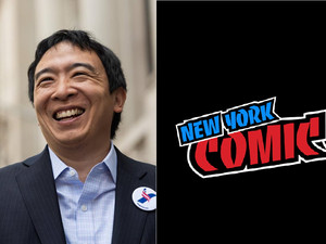 2018 New York Comic Con EXCLUSIVE: 2020 Presidential Nominee, Andrew Yang, Talks Comics, Con Culture