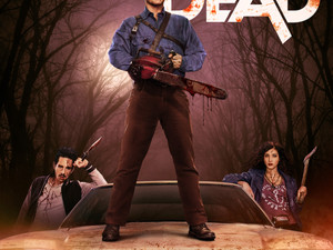 STARZ Releases Key Art For The Highly-Anticipated Series, ASH VS EVIL DEAD