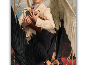 """""""GOOD OMENS"""" Trailer & New Artwork Revealed At NYCC 2018"""