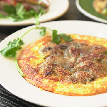 潮州煎蠔烙 Pan Fried Oyster Pancake