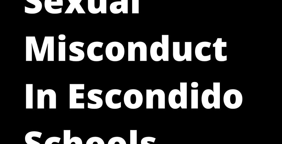 Sexual Misconduct in Escondido Schools.p