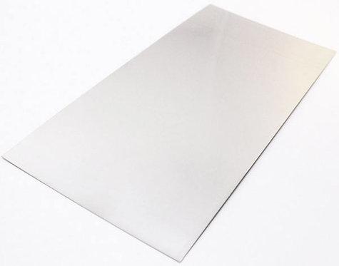 Sheet Steel - 4 X 2 =0.9mm X 1250mm X 625mm