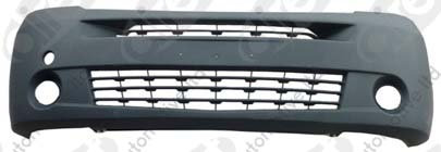 Renault Master Ii 1998-2010 VanFront Bumper With Holes Black