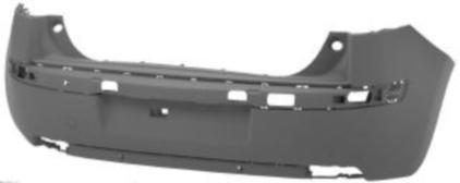 Citroen C4 I 2004-2011 HatchbackRear Bumper Primed 5 Door