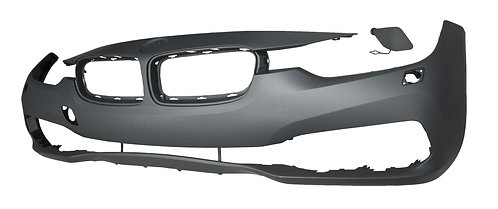 Bmw 3 Series F30 2011-2019 Saloon Front Bumper With Wash Sport Line