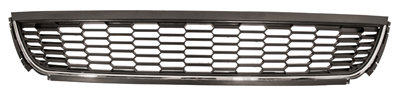 Vw Polo 2009-2017 Hatchback Front Bumper Grille With Chrome Moulding Highline