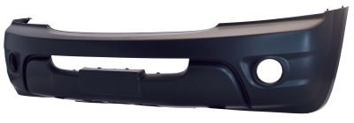 Kia Sorento I 2002-2009 MpvFront Bumper Primed With Holes Base / Lx Models