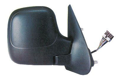 Citroen Berlingo 1996-2011 MpvDoor Mirror Cable Heated Black Right Hand