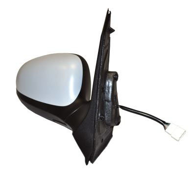 Ford Ka 2008-2016 HatchbackDoor Mirror Electric Heated Primed Right Hand